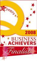 Business Achiever finalist 2008